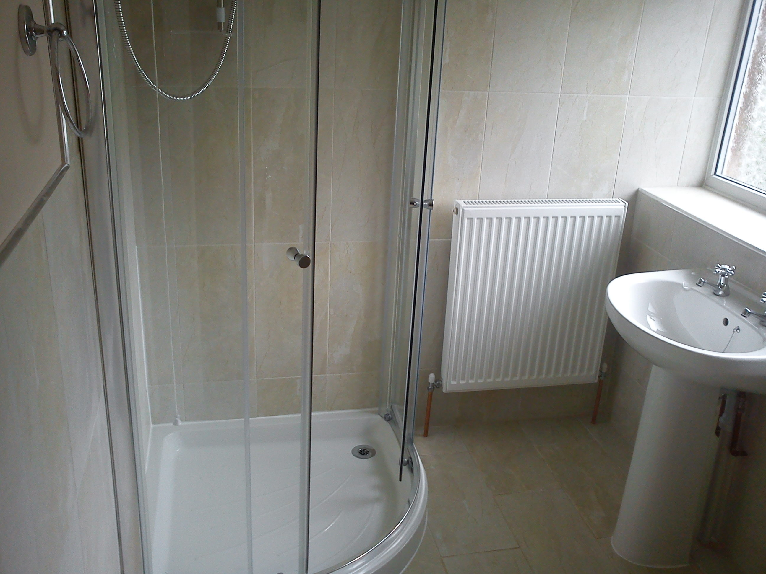 Finished Shower Room Installation